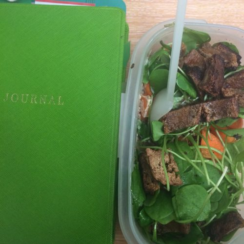 green journal and salad midorigreen.co.uk